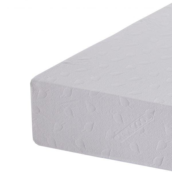 health flex memory foam mattress corner