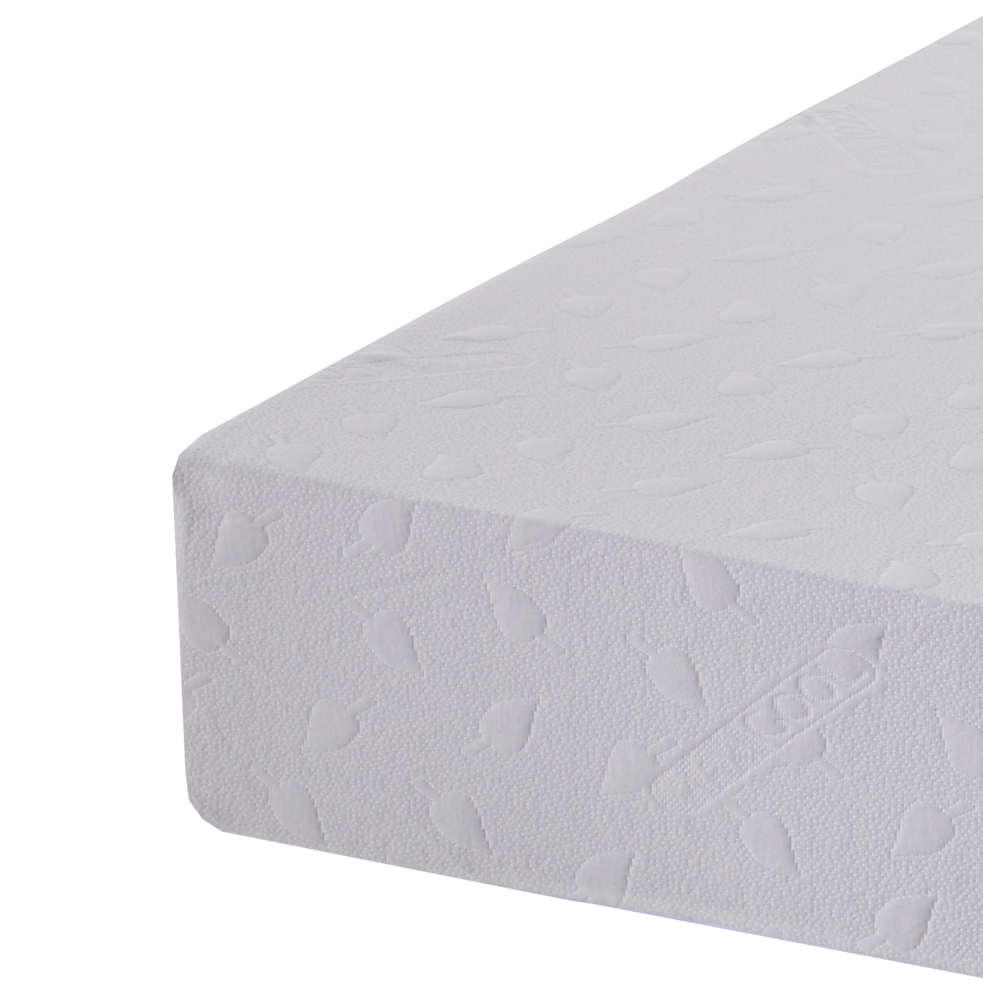 health flex memory foam mattress corner