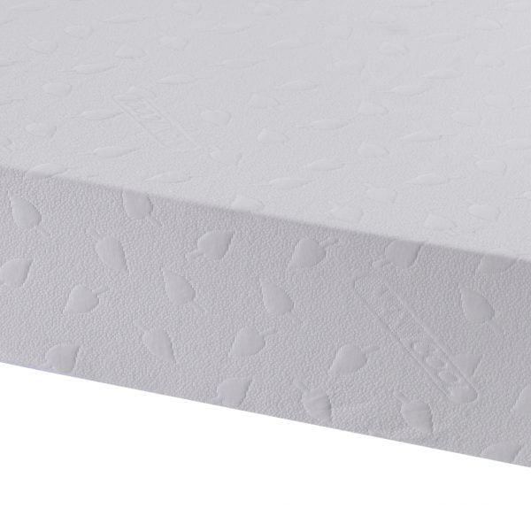 health flex memory foam mattress side