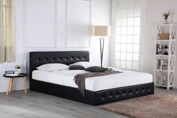 sovereign Ottoman bed black